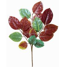 decoración de otoño artificial ramas de árboles de plástico hojas de mango venta comprar plantas artificiais