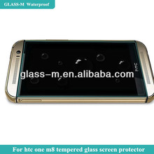 Electroplated nano cellphone screen protective film, silicon sticker for htc m8 tempered glass screen film factory supply