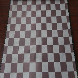 Hot new product 3 pass checked blackout curtain fabric for imported curtain use