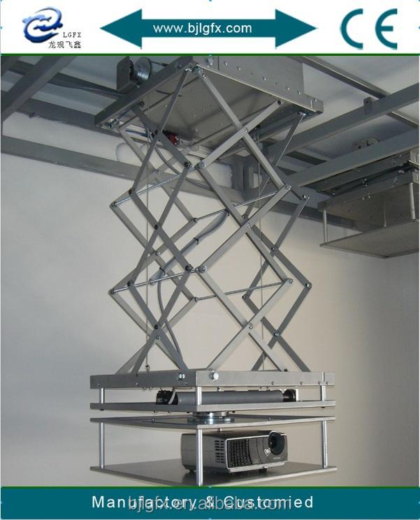 Motorized projector ceiling mount motorized retractable for Motorized ceiling projector mount