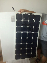 Hot sell low price light weight 600 watt solar panel for RV / Boats