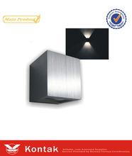 IK08 semicircular High performance flexible bedside led wall lightings 3w/6w/7w