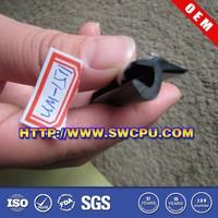 Custom auto glass rubber seals strips
