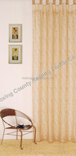 Embroidery sheer window curtain