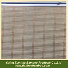 bamboo slats in venetian blinds