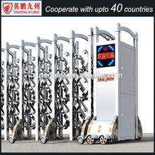 direct selling factory motorized gate automatic sliding doors with stainless steel
