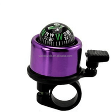 48mm lovely colorful small bell with compass for bike/pretty Bike Bell bike parts accessories