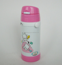 9 oz BPA Free Stainless Steel Baby Thermos with Flip Straw, Thermos Bottle