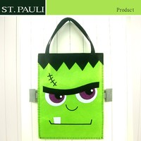 eco friendly hand sewing felt halloween promotion bag