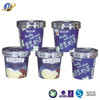 disposable ice cream cup with lid double PE paper same as Haagen Daaz with SGS