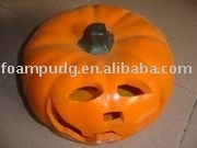 new design PU Halloween foam pumpkin