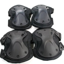 X Shape Knee Elbow Pads, Transformer Outdoor Sports Knee Pads ,Flexible Tactical Knee And Elbow Pads