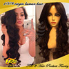 Unprocessed 100 human hair wigs for african americans