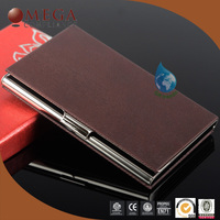 promotional leather name card holder case for business