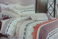 100% PES natural fabric bedding sets cheap price