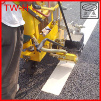 Glass bead road marking machine for sale