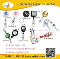 High quality Badge holder with id card holder Yoyo key chains