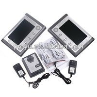 2 Apartments Handsfree Villa 7'' TFT LCD color multi apartment video door phone PY-SY802MA12