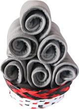 Ohbabyka eco-friendly and washable 5 layers charcoal bamboo inserts