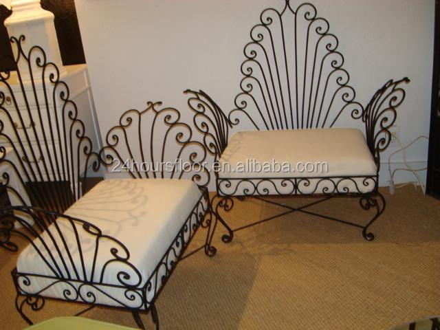 Wrought Iron Furniture - Buy Wrought Iron Indoor Furniture,Custom Made ...