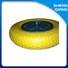 Factory Manufacture Wheel Barrow Solid Rubber Wheel