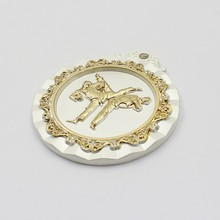 custom silver 3d sports taekwondo medals for souvenir