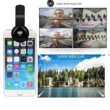 Wide Angle 0.4X Detachable Selfie Cam Lens Clip for Phone Camera