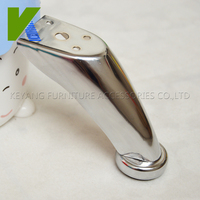 Manufactory Sale Fashion Chromed Furniture Sofa Legs KYE002-1