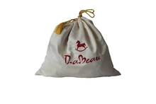 Custom made dust bag for handbag and shoes dust cover bag satin cotton polyester drawstring bag