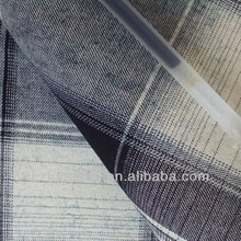 100% cotton cotton shirt denim fabric with blue and white stripe
