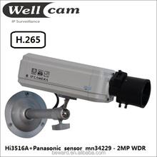 h.265 cctv camera based ip hd camera pc security camera,real wdr model,above 120db