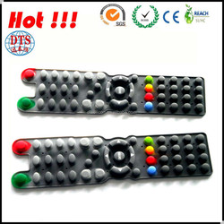Two Easy Button Illuminated Rubber/Silicone Membrane Switch Keyboard