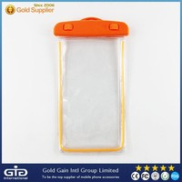 Multi Color PVC Universal Waterproof Case For Mobile Phone