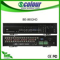 CCTV H.264 3G/WIFI Realtime 1080p car dvr gps radar detector Alarm 2U 32CH DVR