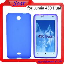 Wholsale tpu gel case for Nokia Lumia 430 Dual