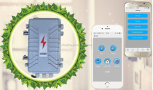 Sending 5 SMSes/5 Calls automatically aluminum industrial transformer security solar panel GSM alarm system