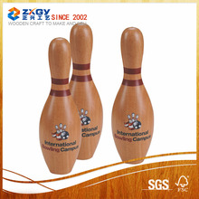 Wooden Bowling Pins and Bowling balls for Kids Toy