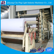 Reed Recycling Writing Paper, Printing Paper, Newspaper Making Machine Price