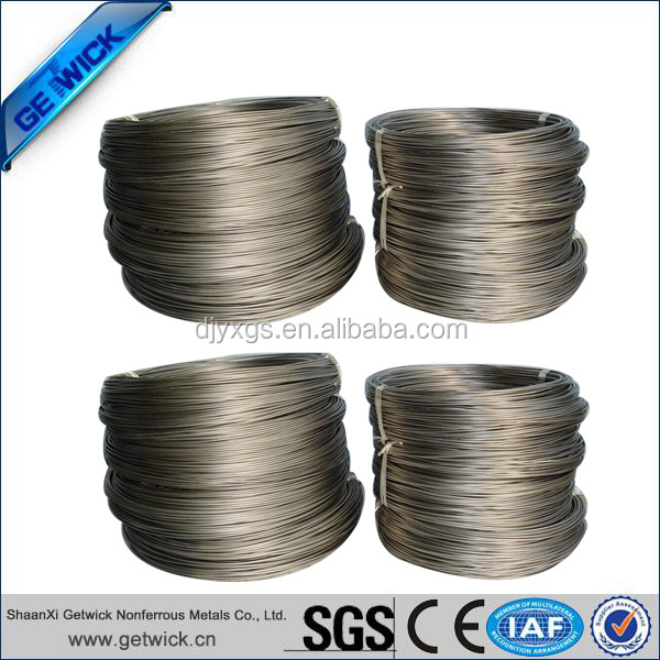utilizing superelastic shape memory alloy strand Edgetech industries llc manufactures nitinol wire (titanium nickel alloy wire, shape memory nitinol wire, superelastic alloy wire) with various af temperature that are used in all fields.