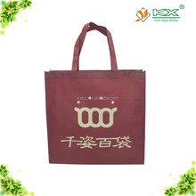 non woven red shopping bag charm
