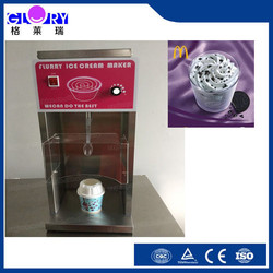 hot sales Mc flurry ice cream maker/ice cream mixer for sales