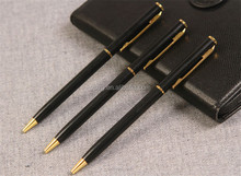 High Quality Black business Metal Body ballpoint Pen