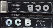 OCB King Size Premium Slim Rolling Papers