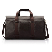 High capacity!Kraft first layer high quality leather new design travel bags for mens, wholesale travel bags