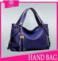 2015 fashion Leather/PU Handbag,Shoulder Women tote bag, Zipper pouch brown Designer purse and Handbag women handbags from China
