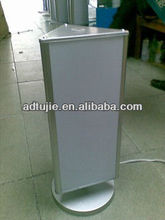 Outdoor advertising rotating/scrolling stand light box/billboard/lamp box