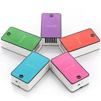 Desktop rechargeable battery student silent mini fan wholesaler for school