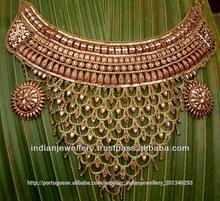 Jóias de cobre colar define oferta fabricante exportador