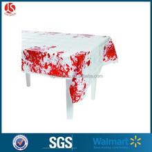 Holloween disposable polyethylene tablecover