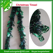 Cheap Outdoor Christmas Tinsel For Holiday